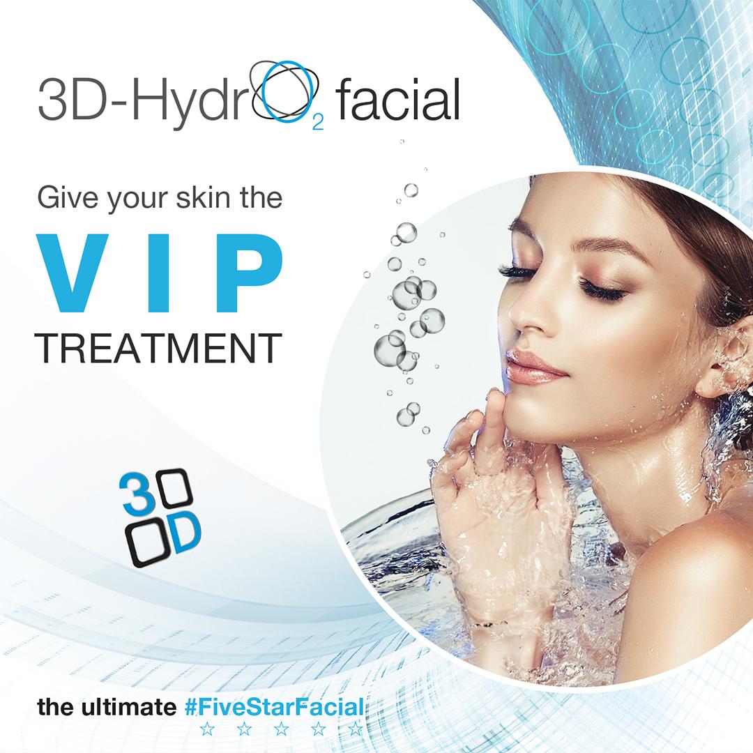 Hydro2 Facial